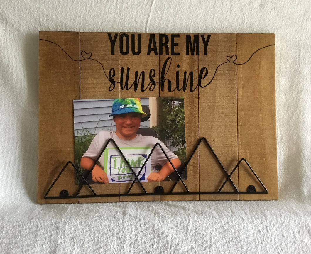 You Are My Sunshine Picture Frame Jimmykare Krafts