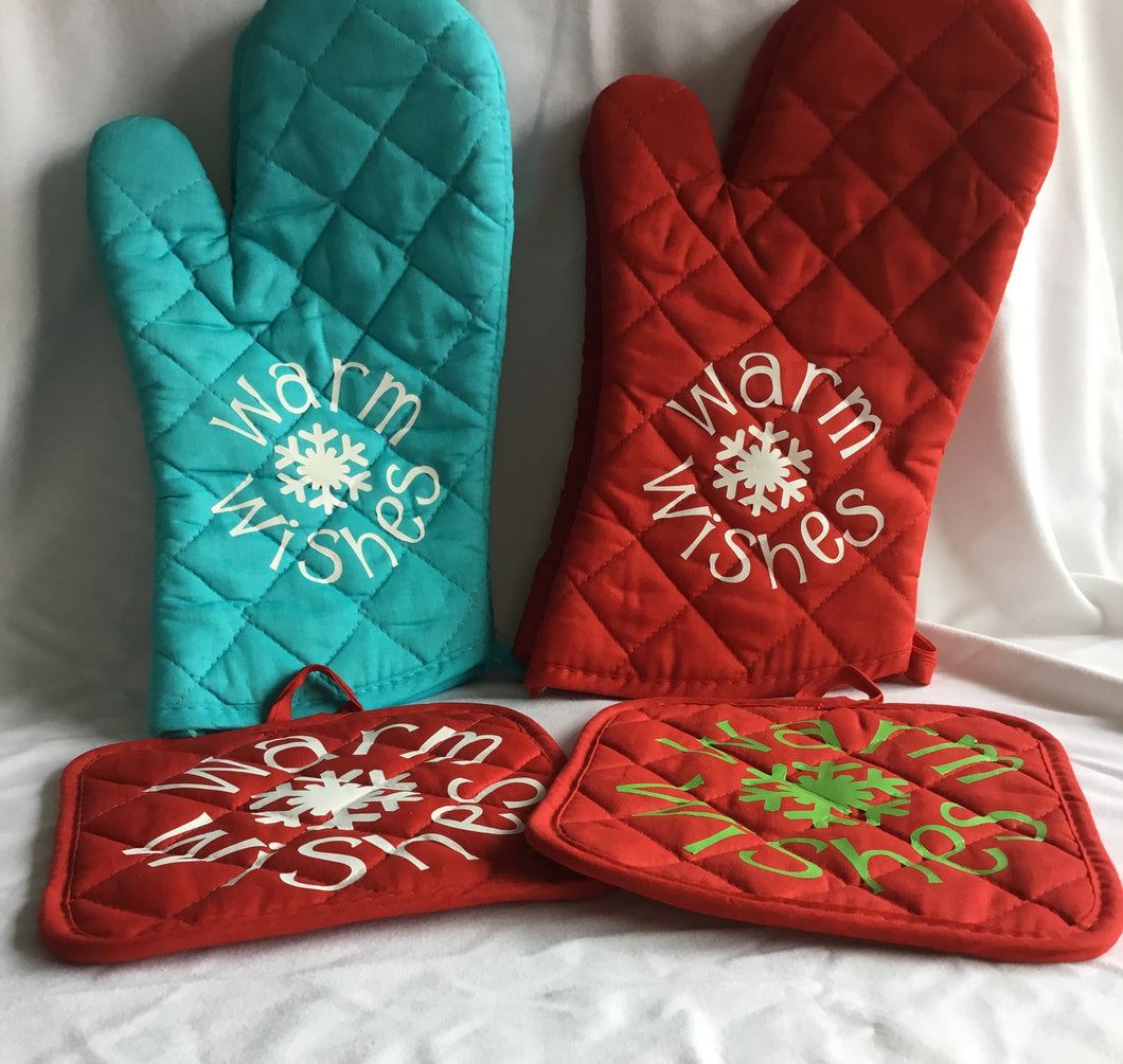 Warm Winter Wishes Oven Glove/Hot Pad