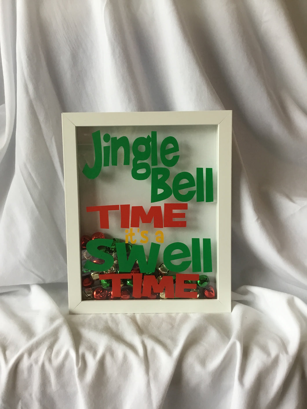 Jingle Bell Time! It's a Swell Time Shadow Box