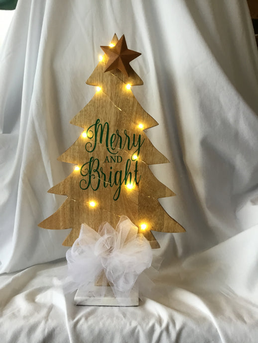Merry & Bright Christmas Tree