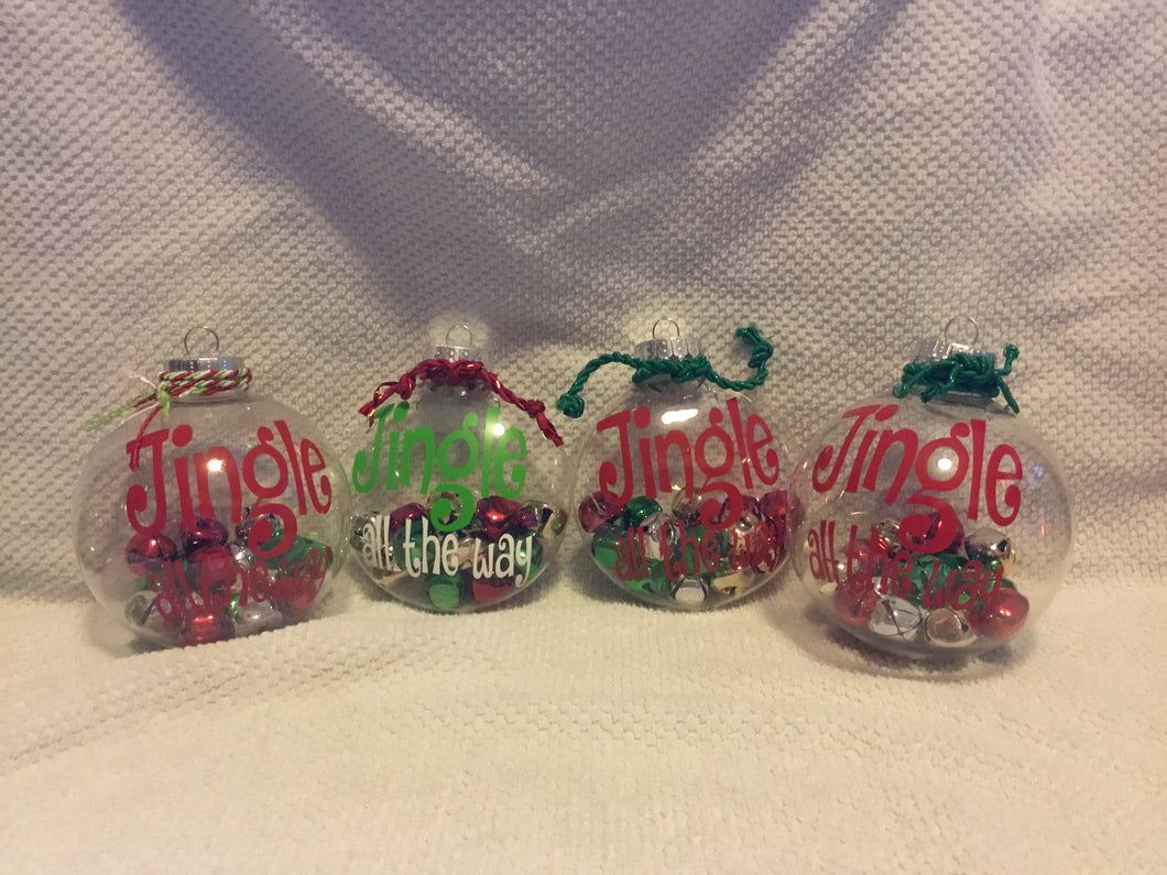 Jingle All the Way! Christmas Ornament