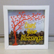 Count your blessings shadow box
