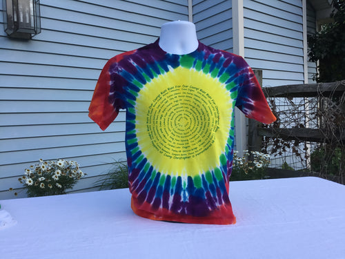 Tie Dye T-Shirt  Camp Places