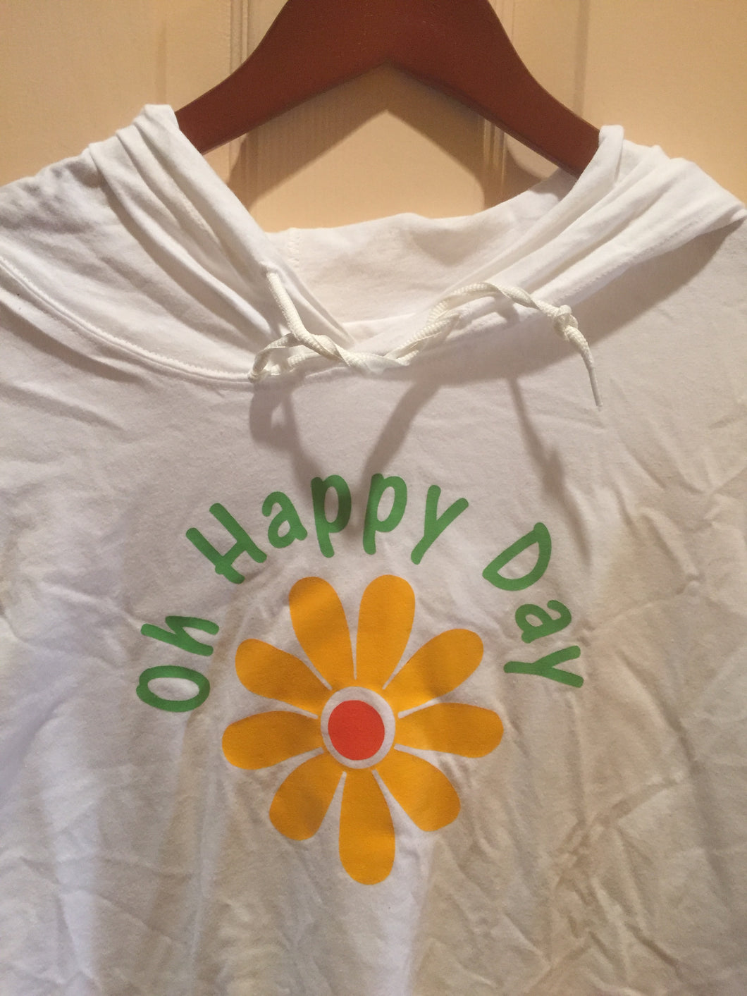 Oh Happy Day! Long Sleeve Hooded T-Shirt