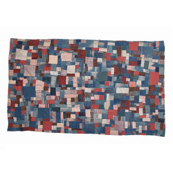 mini patchwork quilt