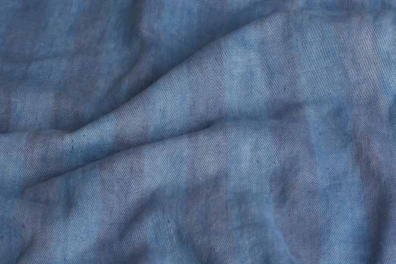 ORGANIC COTTON INDIGO SHIFT DRESS