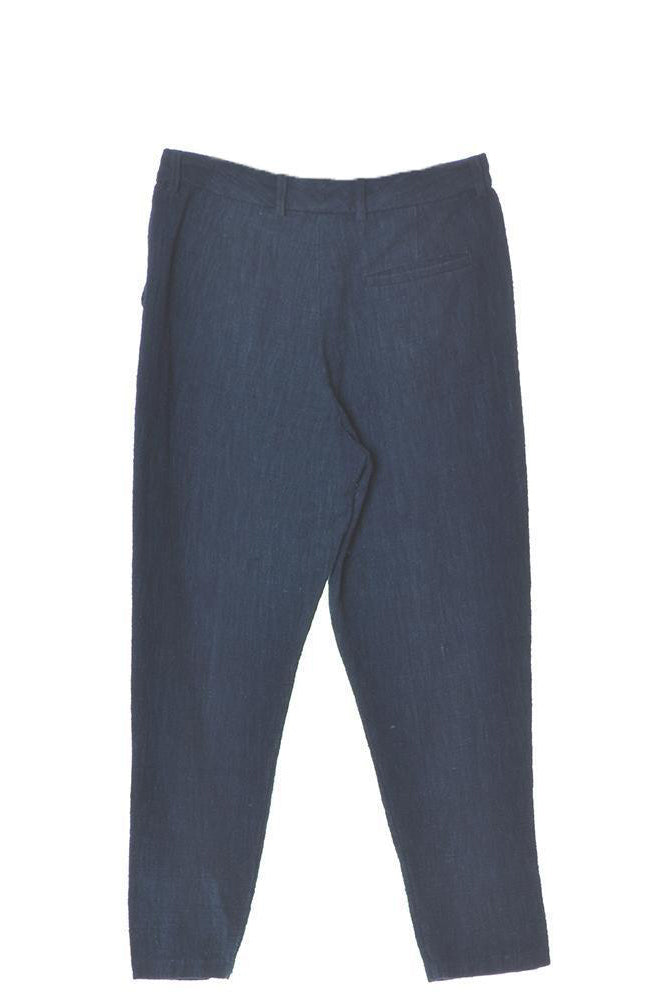 ORGANIC COTTON INDIGO MENS TROUSER