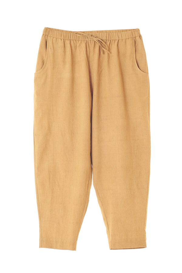 MUSTARD YELLOW ORGANIC COTTON UNISEX PANTS