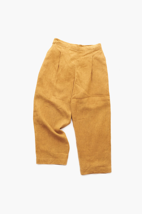 SUNSHINE RELAXED FIT LINEN TROUSERS