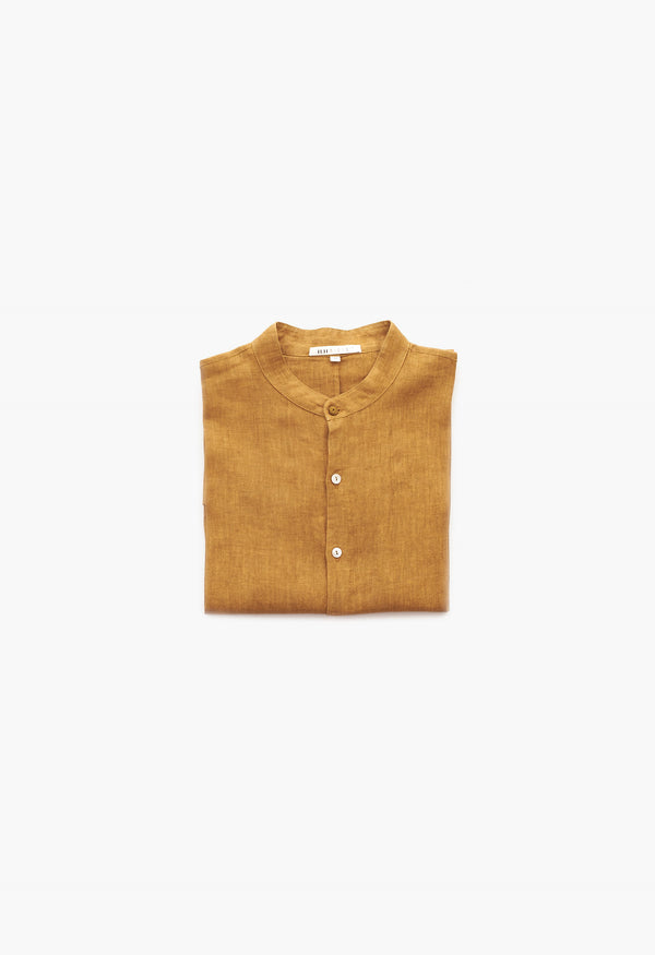 SUNSHINE RELAXED FIT LINEN TOP
