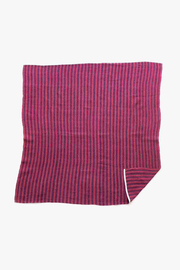 Organic Cotton Yarn Dyed Striped Scarf : Let Not Your Heart Be Troubled