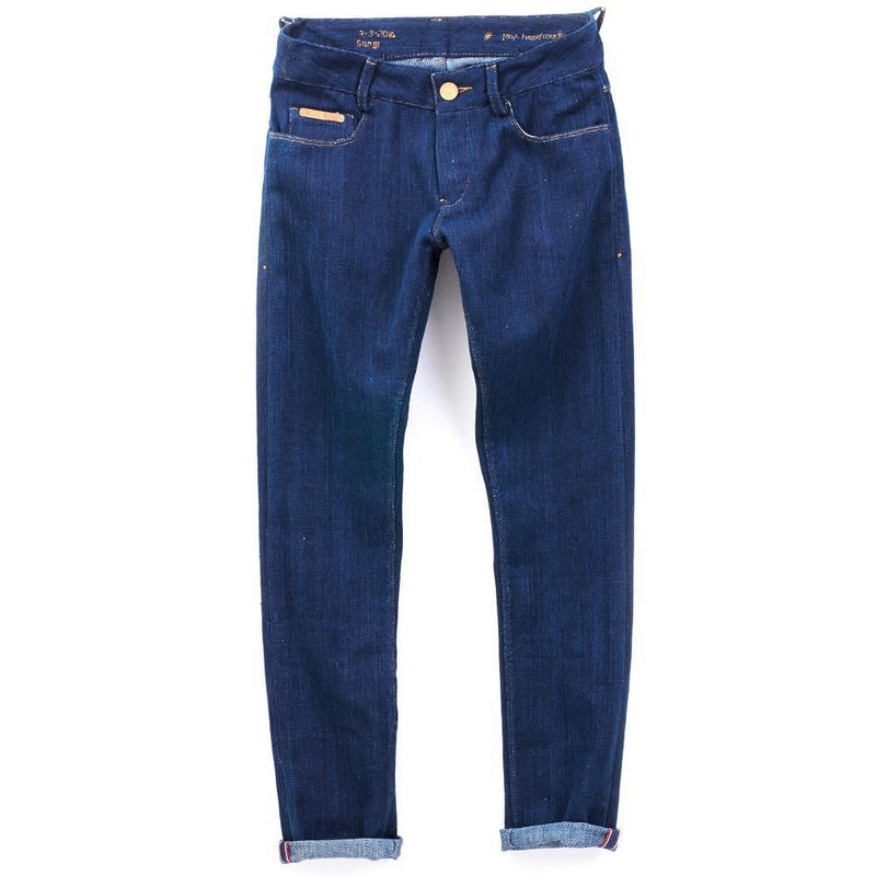 SKINNY KHADI DENIM (kala cotton)