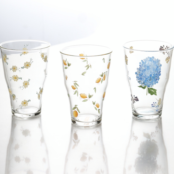 Blossom Tall Drinking Glass
