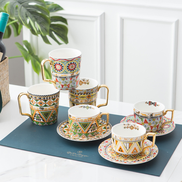 Khisma Cups and Saucers