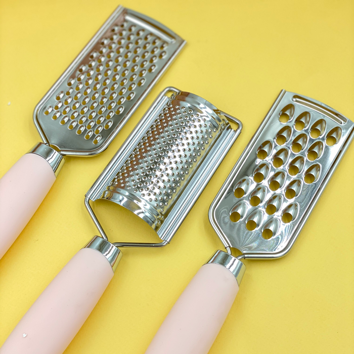 Multi-Purpose Handheld Kitchen Grater Set