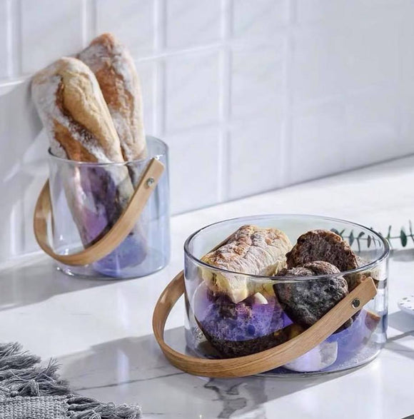 Yvli Glass Basket