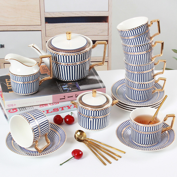 Cora High Tea Set