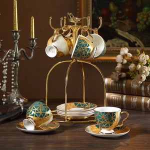 Serene Cup and Saucer Set