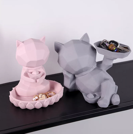 Cat Trinket Holder