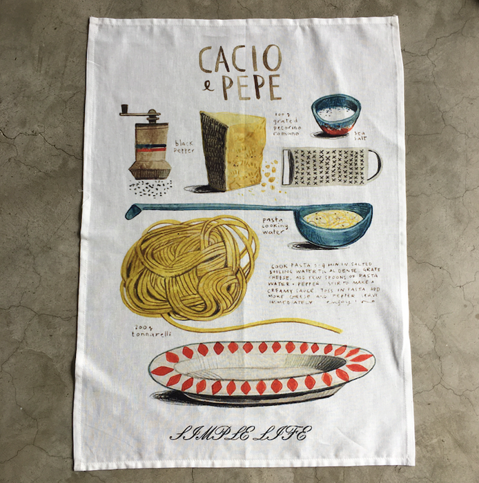 Printed Linen Napkin/ Placemat/ Kitchen Towel