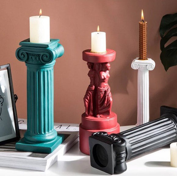 Themis Candle Holder