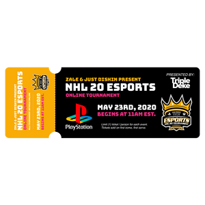 *PS4* NHL 20 Esports Ticket