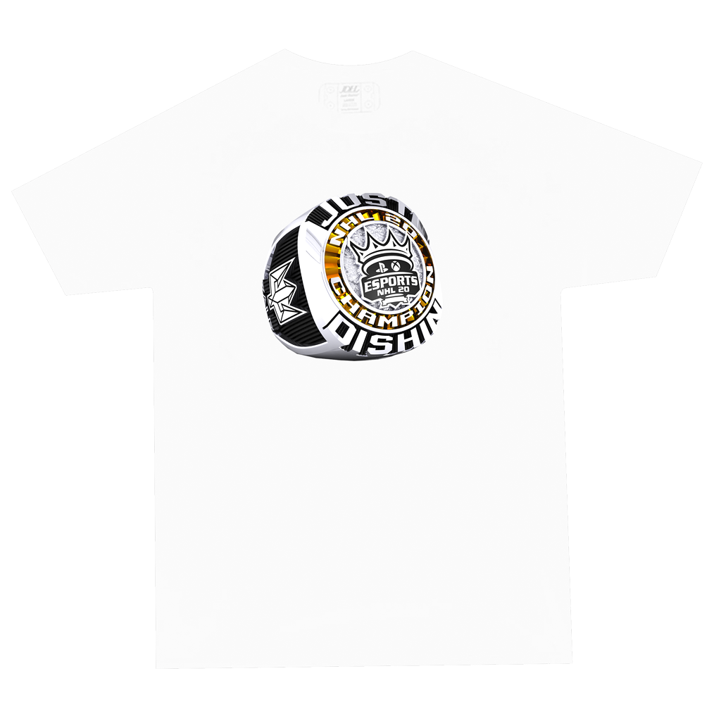 NHL 20 White Ring Shirt