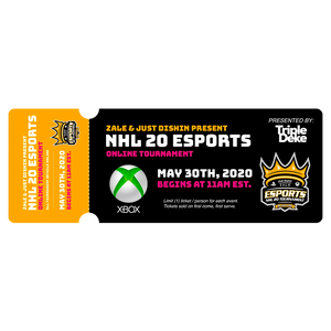 *XBOX* NHL 20 Esports Ticket