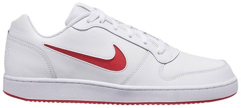 "Men's Nike Ebernon low ""White/Red"""