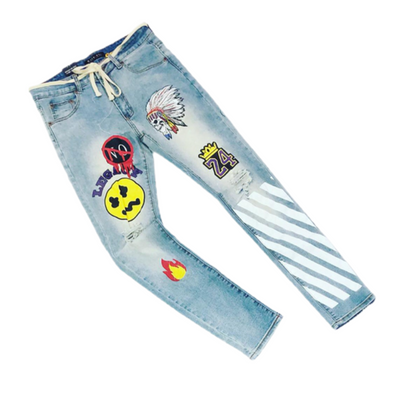 Msociety  Ripped Denim