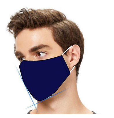 Men's 3 Ply Plain Mask