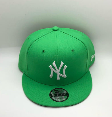 New York Yankees New Era Team Color 59FIFTY Snapback Hat-Green