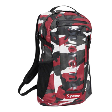 Supreme Backpack (SS21) Red Camo