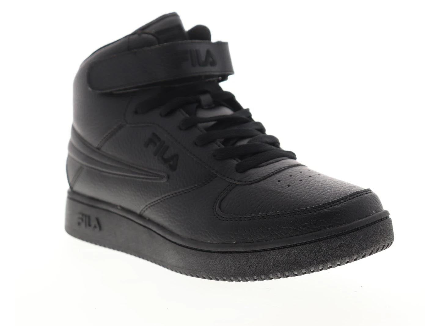 Fila A High Men's Black Synthetic Lace Up Low Top Sneakers Shoes 1CM00540