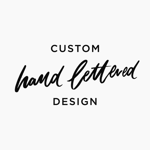 Custom Hand Lettered Logo Design