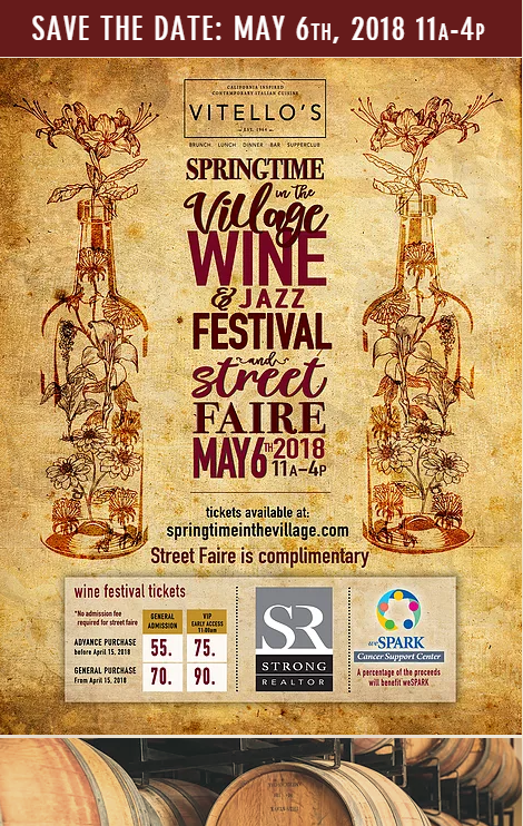SPRINGTIME IN THE VILLAGE WINE AND JAZZ FESTIVAL