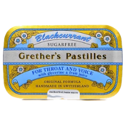 Grether's Pastilles Blackcurrant 3.75oz Sugar Free