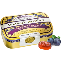 Grether's Pastilles Blueberry 3.75oz Sugar Free