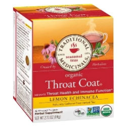 Throat Coat Tea Lemon Echinacea