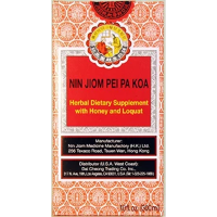 Nin Jiom Pei Pa Koa - Sore Throat Syrup - 100% Natural