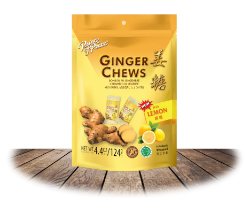 Ginger Chews (Lemon)