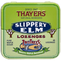 Thayers Natural Remedies Slippery Elm Maple 42 Lozenge