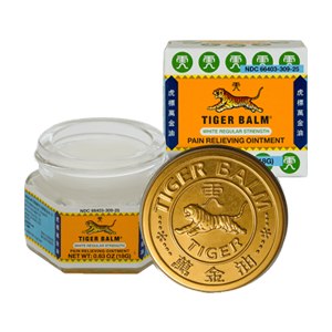 Tiger Balm Pain Relieving Ointment White Regular Strength