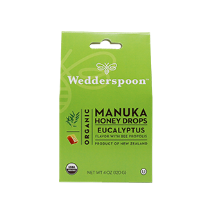Organic Manuka Eucalyptus Honey Drops