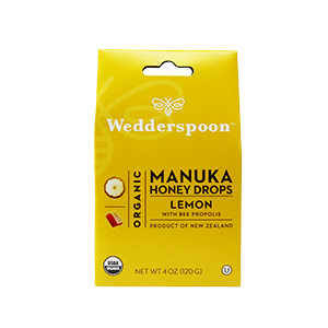 Organic Manuka Lemon Honey Drops