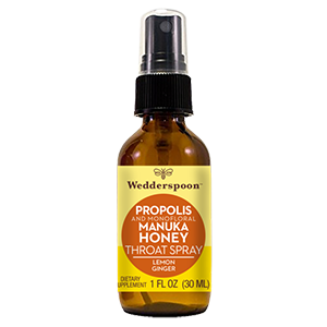 PROPOLIS AND MANUKA HONEY THROAT SPRAY - Lemon Ginger