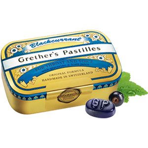 Grether's Pastilles Blackcurrant 3.75oz