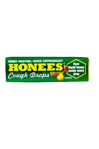 Honees Cough Drop - (Regular) - Bar of 9
