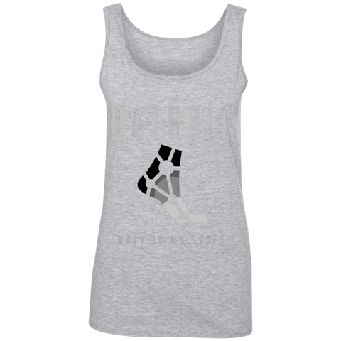882L Ladies' 100% Ringspun Cotton Tank Top