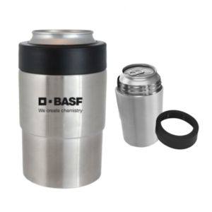 Stainless Steel Boss™ Insulated Can Holder (Bulk Order)